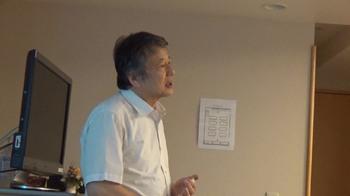 西尾温文氏大阪講演会を開催しました。画像