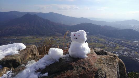 個人山行(右田ヶ岳)2016.12.17画像