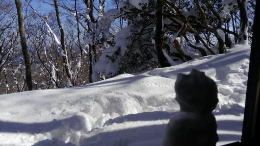 個人山行 雪の莇 2017.01.26画像