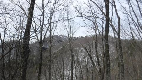 十王山より山頂を振り返る画像