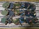 SHINZIROタグ付き がま口財布