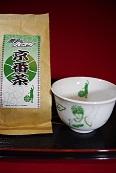 黒子のバスケ(京のお茶+湯呑セット)緑間(予約販売品)