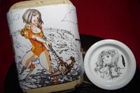 七つの大罪「七つの大材」ディアンヌ バージョン(キャラ皿+七味セット )
