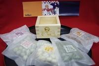 【白糸描き下ろし画像】ハイキュー!!オリジナル枡入り豆菓子(予約販売品)