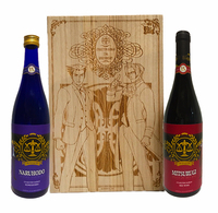 【逆転裁判】15周年記念 乾杯セット(木箱付)