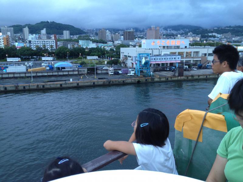 のびのび夏休みin鹿児島 さよならの帰り道画像